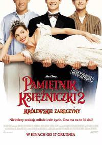 Pamiętnik księżniczki 2: Królewskie zaręczyny (2004) plakat
