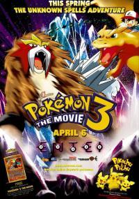 Pokémon 3: Zaklęcie Unown (2000) plakat