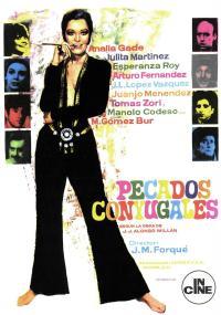 Pecados conyugales (1968) plakat