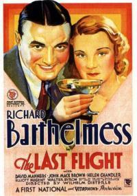 Ostatni lot (1931) plakat