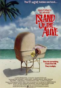 A jednak żyje 3: Wyspa żyjących (1987) plakat