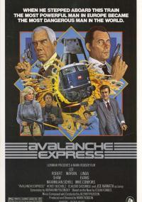 Ekspres pod lawiną (1979) plakat