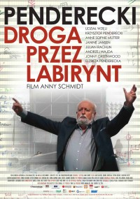 Droga przez labirynt. Penderecki (2013) plakat