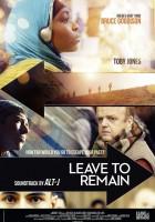 plakat - Odejść, by pozostać (2013)