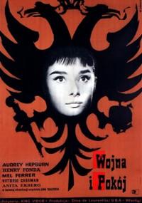 Wojna i pokój (1956) plakat
