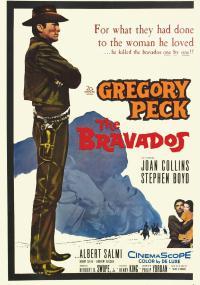 Bravados (1958) plakat
