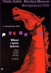 Skłóceni z życiem (1961) plakat