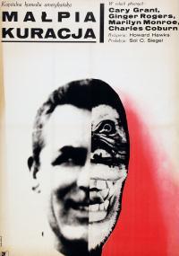 Małpia kuracja (1952) plakat