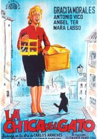 La Chica del gato (1964) plakat