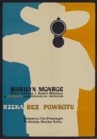 plakat - Rzeka bez powrotu (1954)