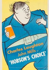 Wybór Hobsona (1954) plakat