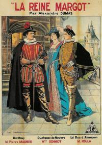 La Reine Margot (1910) plakat