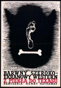 Z piekła do Teksasu (1958) plakat