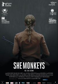 She Monkeys (2011) plakat
