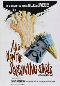 And Now the Screaming Starts! (1973) plakat