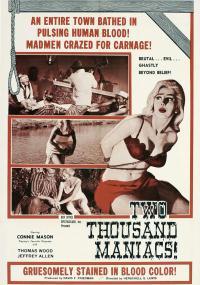 Dwa tysiące maniaków (1964) plakat