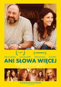 Ani słowa więcej (2013) plakat