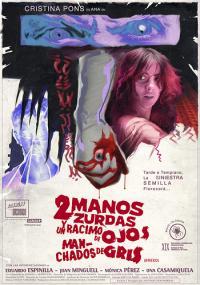 Dos manos zurdas y un racimo de ojos manchados de gris (2008) plakat