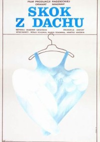 Skok z dachu (1977) plakat
