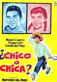 ¿Chico o chica? (1962) plakat