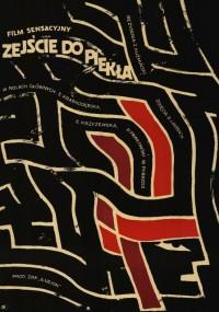 Zejście do piekła (1966) plakat