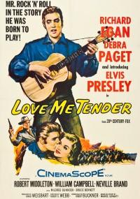 Kochaj mnie czule (1956) plakat