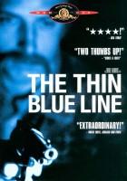 Cienka, niebieska linia