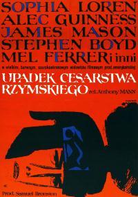 Upadek Cesarstwa Rzymskiego (1964) plakat