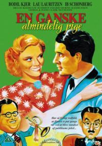 En ganske almindelig pige (1940) plakat