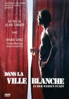 plakat - W białym mieście (1983)