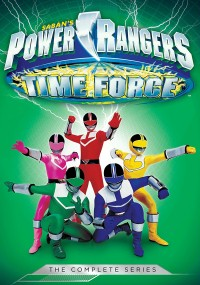 Power Rangers Time Force (2001) plakat