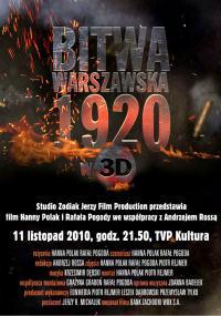 Bitwa Warszawska w 3D (2010) plakat