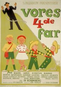 Vores fjerde far (1951) plakat
