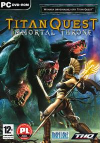 Titan Quest: Immortal Throne (2007) plakat