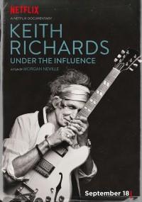 Keith Richards: Under the Influence (2015) plakat