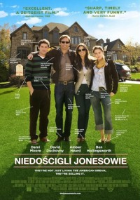 Niedościgli Jonesowie (2009) plakat