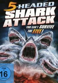 Pięciogłowy rekin atakuje