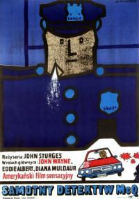 Detektyw McQ (1974) plakat