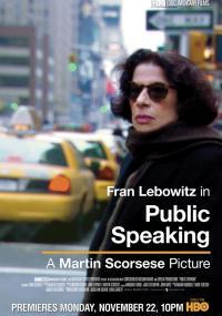 Public Speaking (2010) plakat