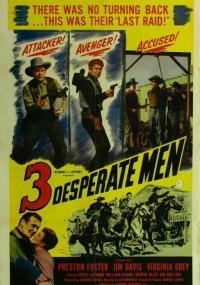 Three Desperate Men (1951) plakat