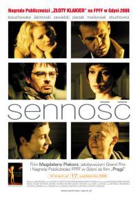 Senność (2008) plakat