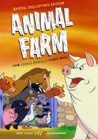 Folwark zwierzęcy (1954) plakat