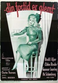 Din fortid er glemt (1949) plakat