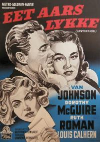 Invitation (1952) plakat