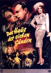 Siedmiu grzeszników (1940) plakat