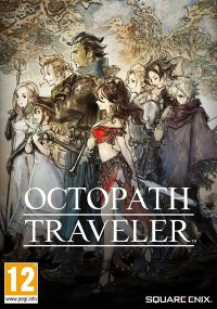 Octopath Traveler (2018) plakat