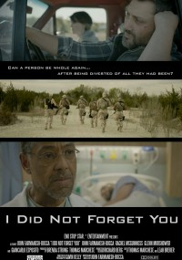 I Did Not Forget You (2015) plakat
