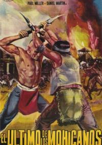 Uncas, el fin de una raza (1965) plakat