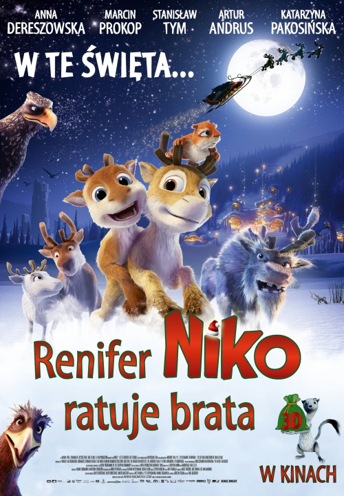 Renifer Niko ratuje brata online na Zalukaj TV