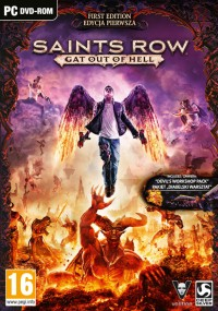 Saints Row: Gat Out of Hell (2015) plakat